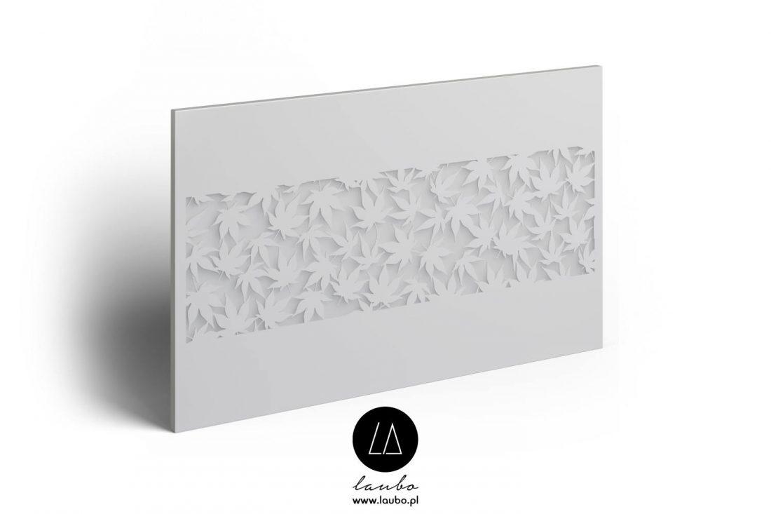 Modern illuminated panel Klon Strip