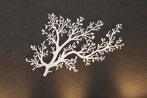 Elegant garden decoration laser cut tree