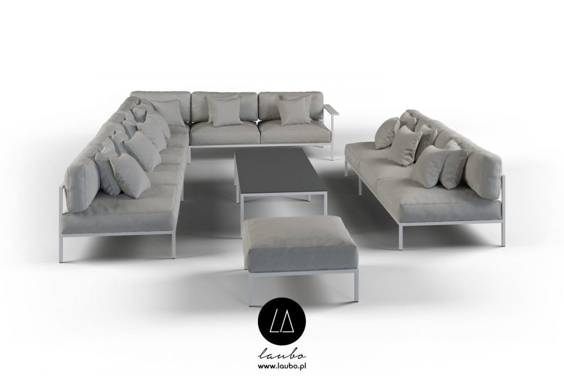 Contemporary style furniture collection