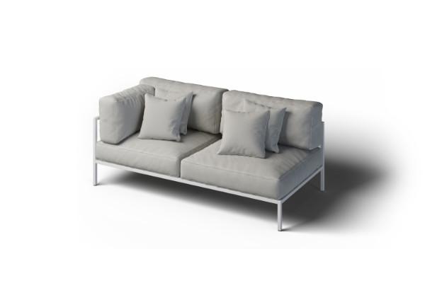 Cosy garden set corner sofa