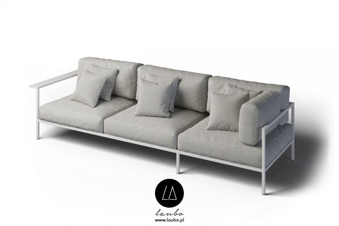 Modern weatherproof sofa