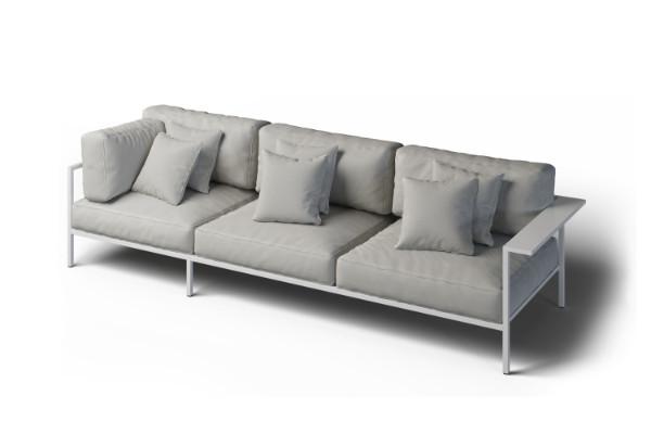 Modern garden corner sofa