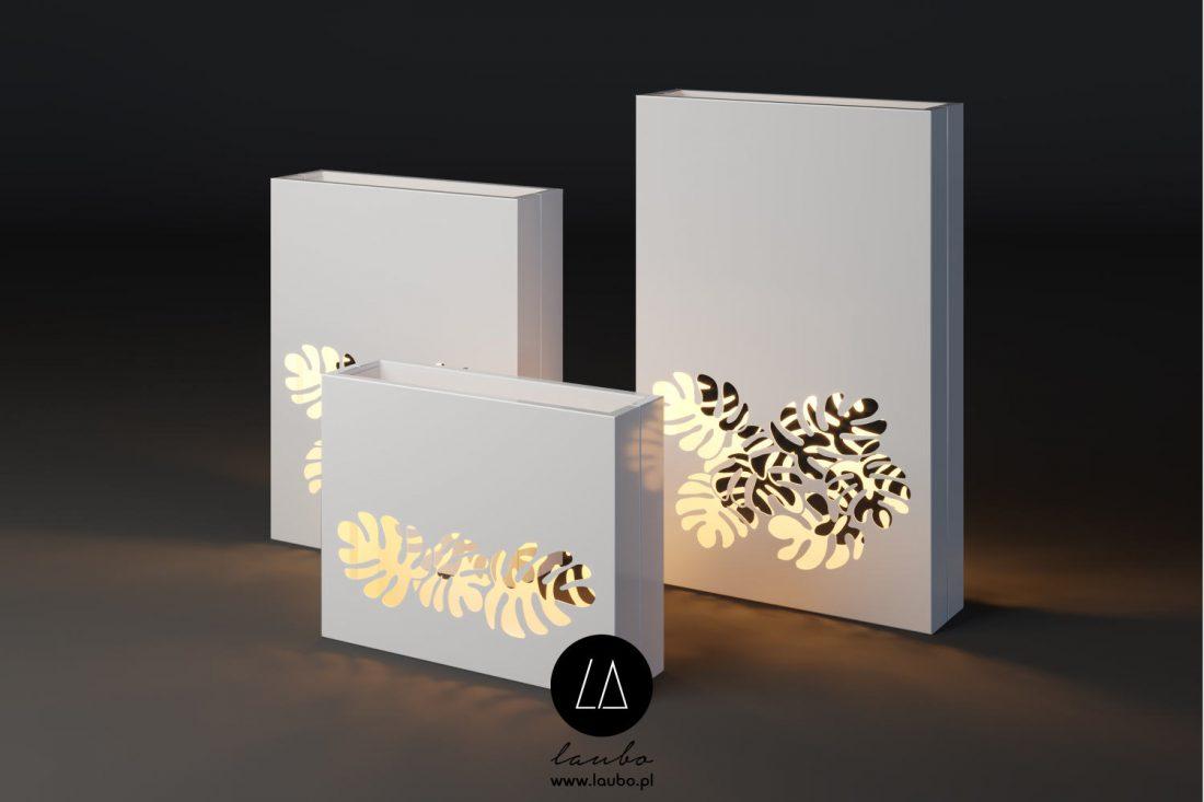 Terrace planter decorative