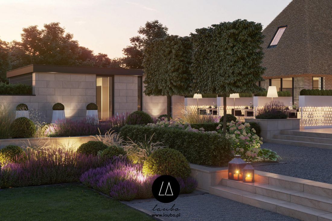 Illuminated planters for hotels