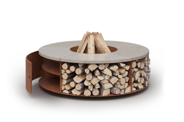 Outdoor garden firepit