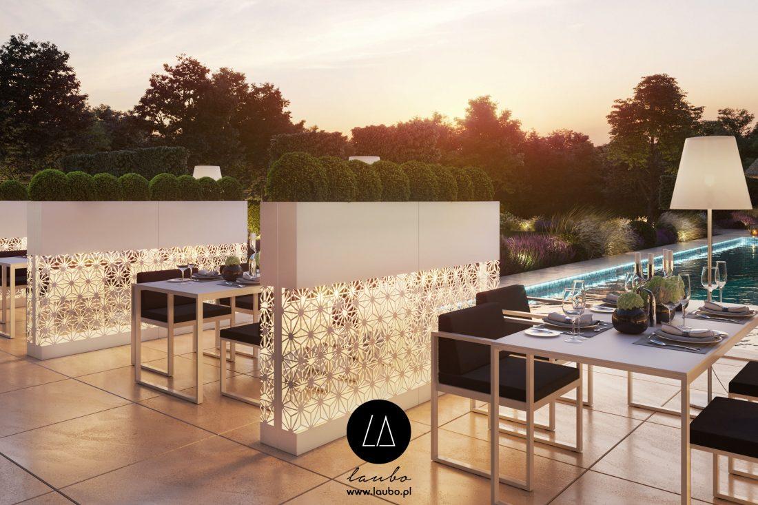 Outdoor modern restaurant furniture