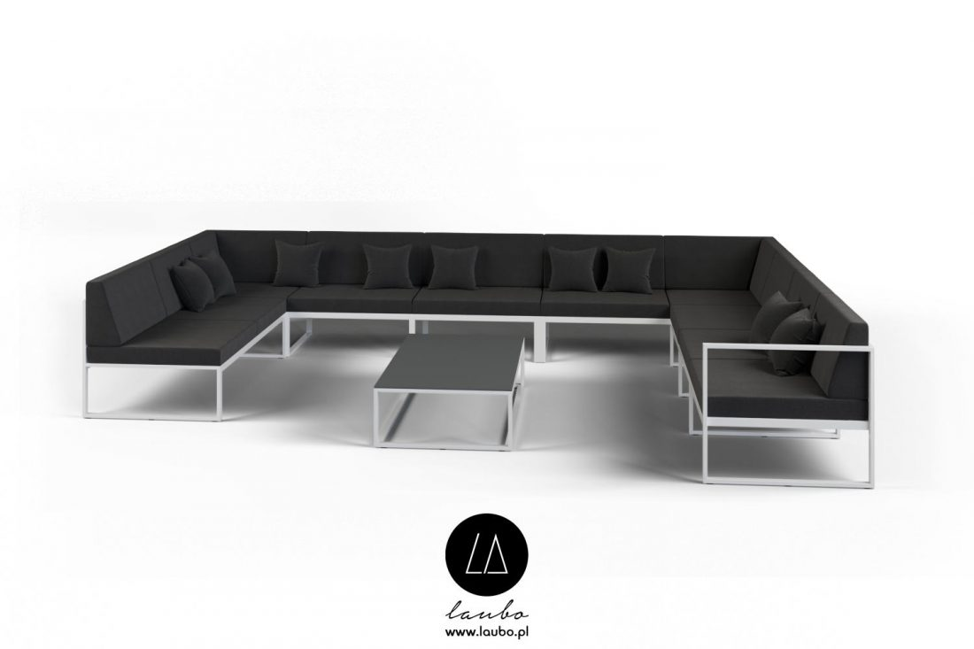 Modern garden furniture lounge furniture set
