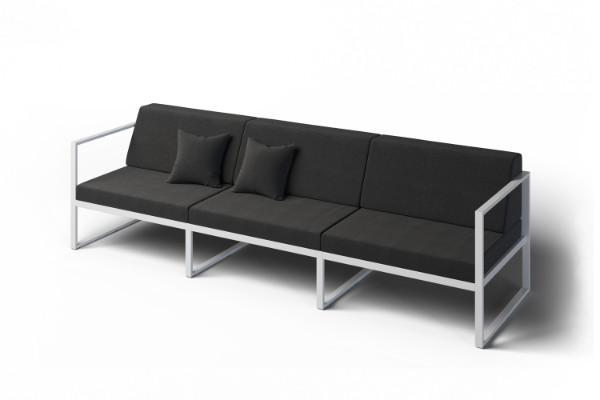 Shallow garden sofa