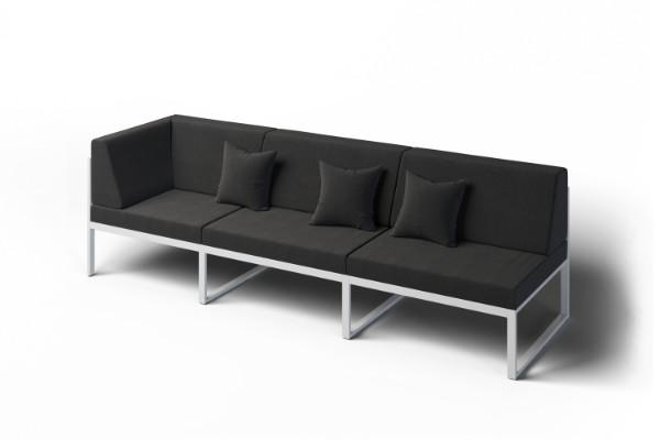 Outdoor waterproof corner sofa