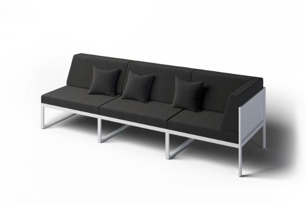 Garden outdoor corner sofa