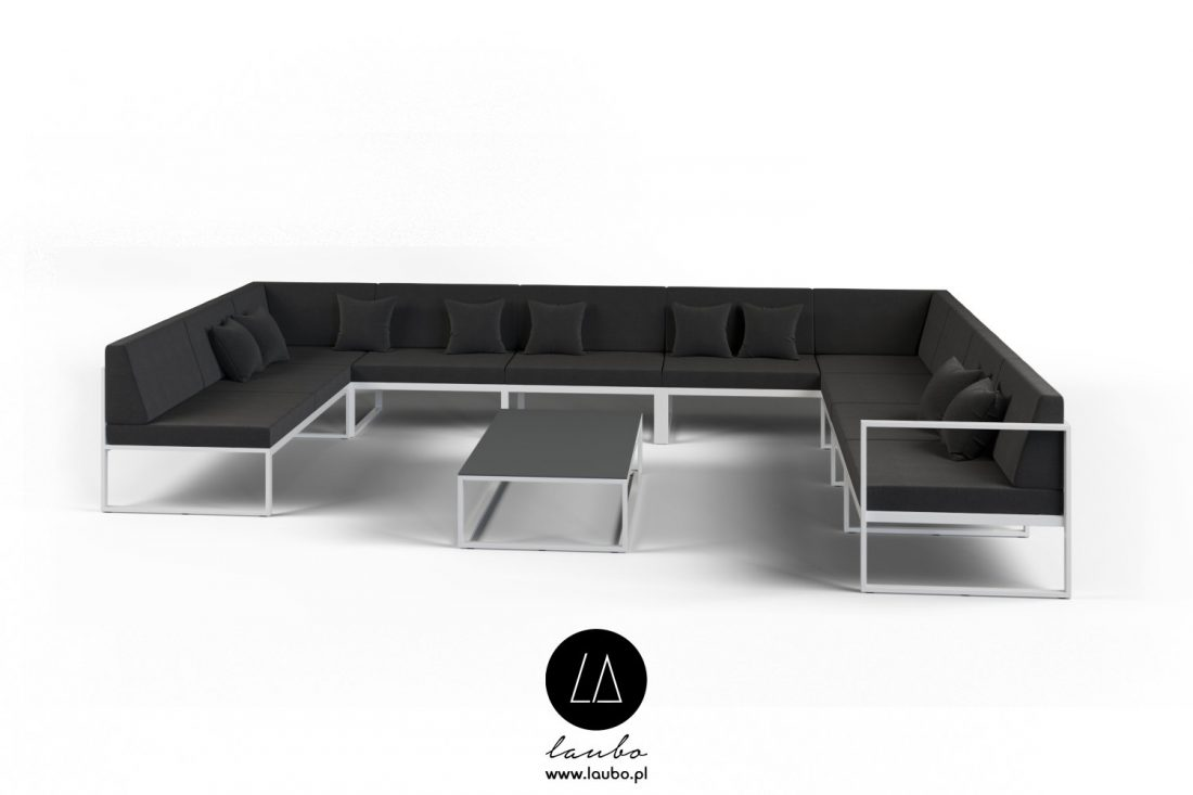 Elegant lounge outdoor set