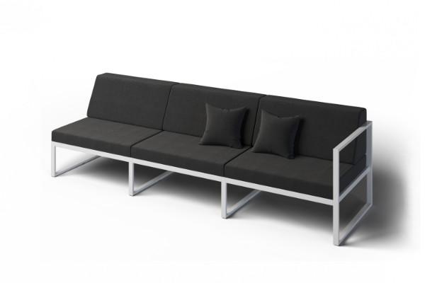 Formal garden sofa