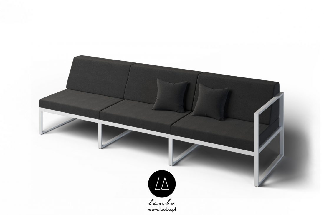 Terrace 3-seater couch