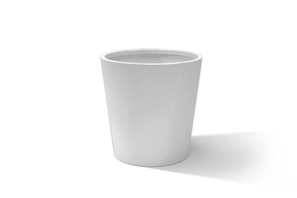 Aluminium round planter plant pot