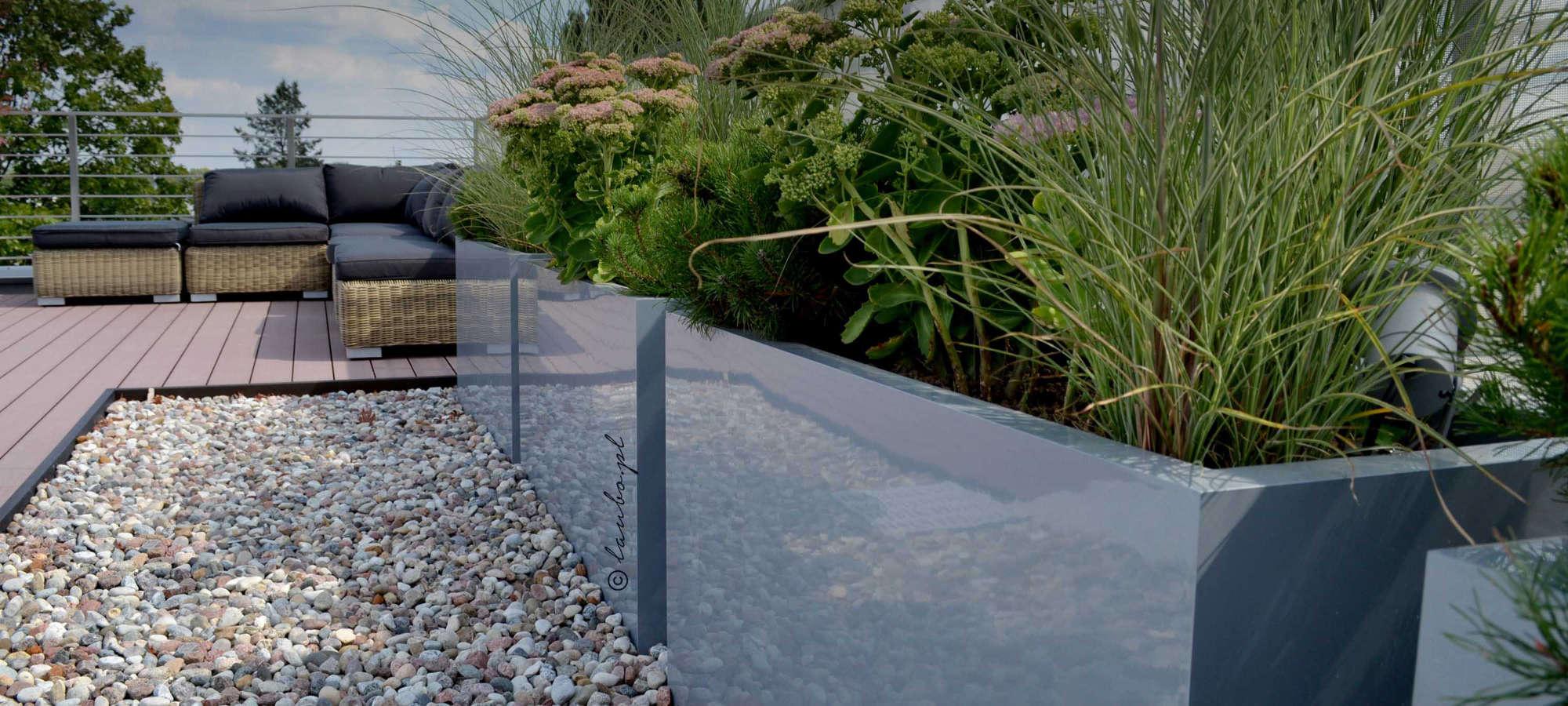 Terrace planters