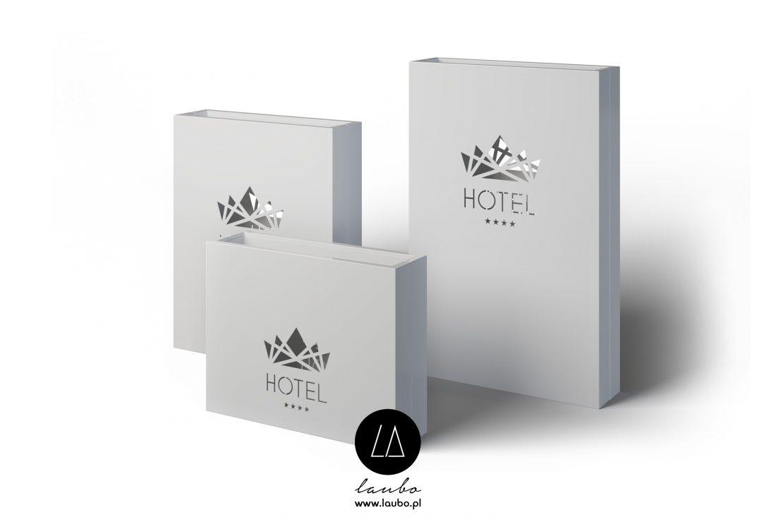 Świecące donice z logo