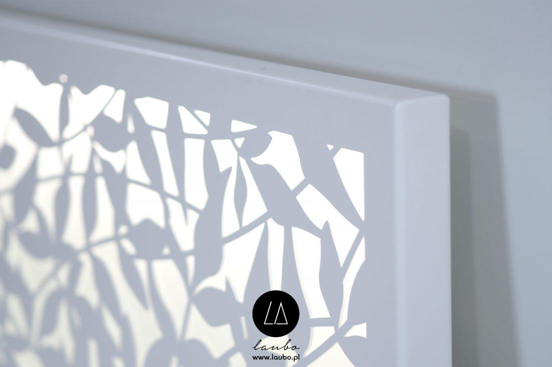 Podświetlany panel zewnętrzny na ścianę