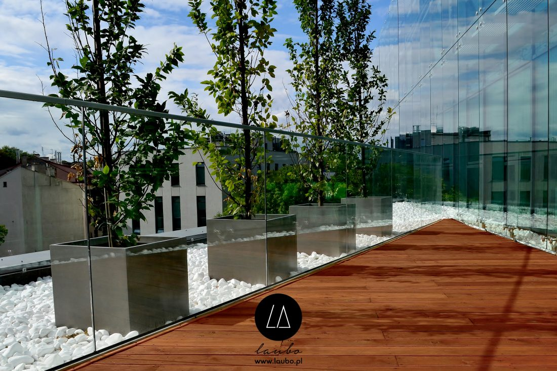 Donica kwadratowa XXL Design Cube