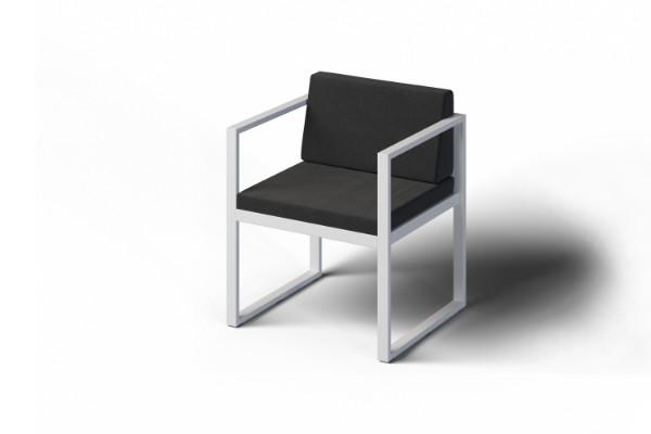 Eleganckie krzesło ogrodowe