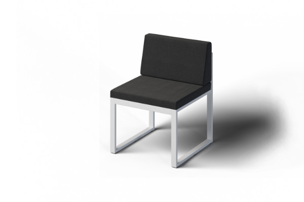 Eleganckie krzesło tarasowe
