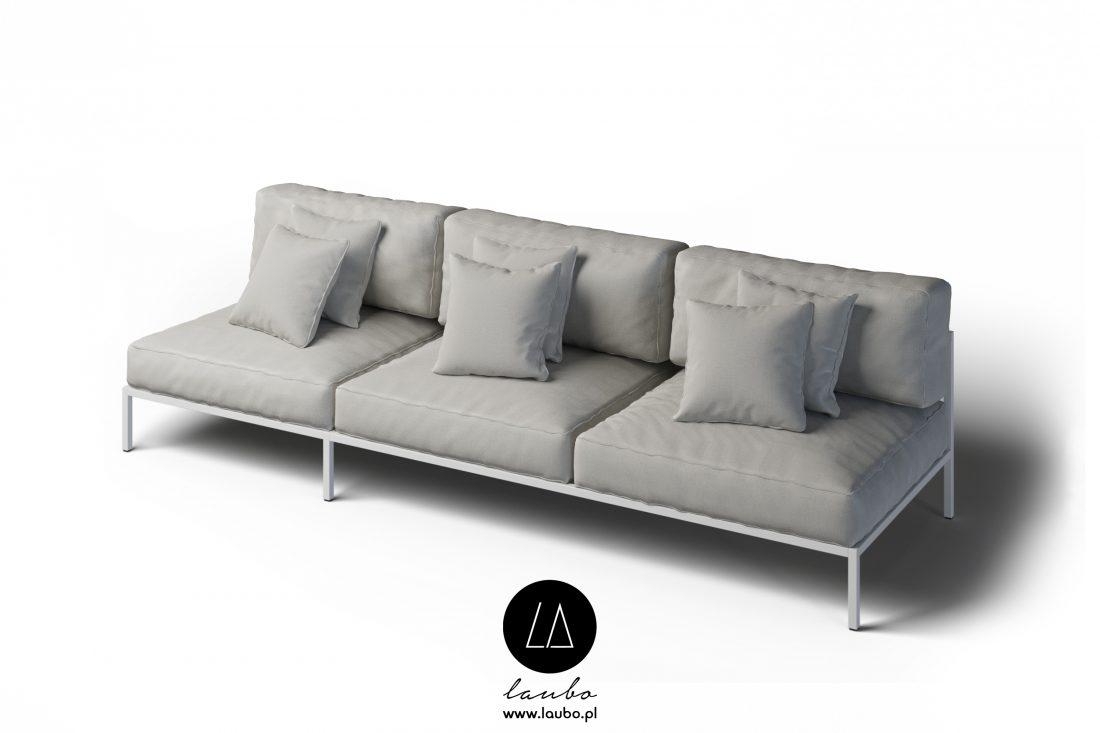 Kanapa tarasowa sofa 3-osobowa Cosi