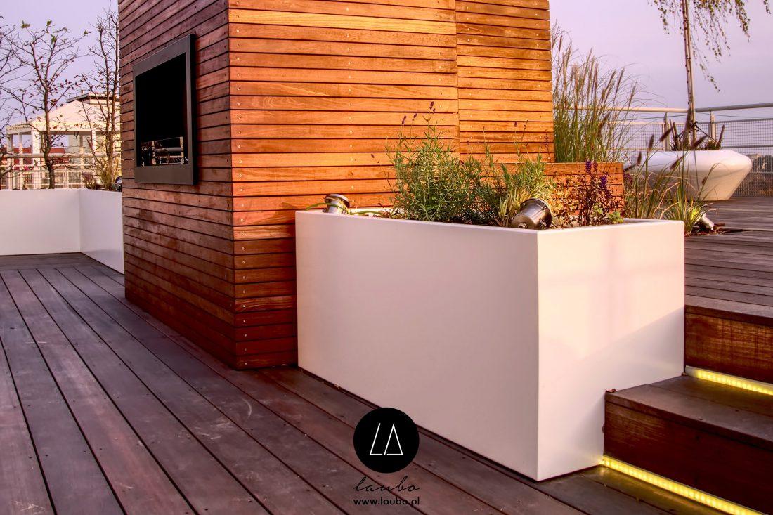 Mrozoodporna donica zewnętrzna Design Nava