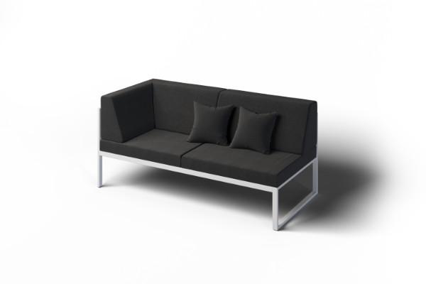 Narożna kanapa na zewnątrz
