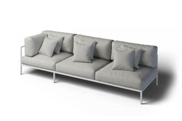 Nowoczesna kanapa zewnętrzna