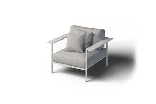 Nowoczesny fotel ogrodowy