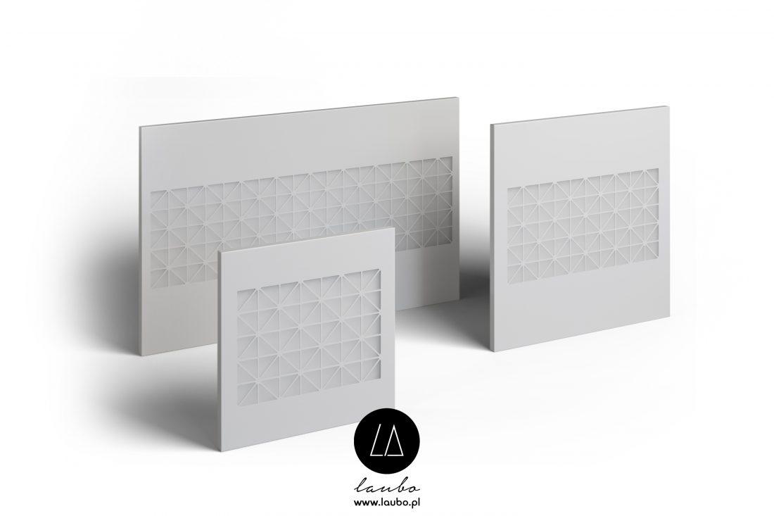 Nowoczesny podświetlany panel Tile Strip