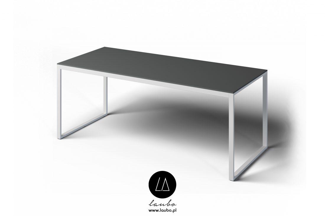 Nowoczesny stół zewnętrzny prostokątny Formal