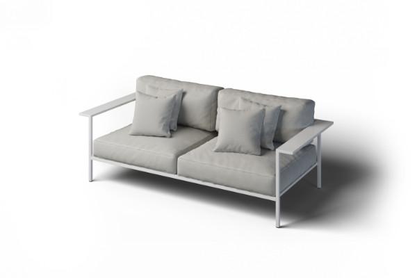Sofa 2-osobowa ogrodowa