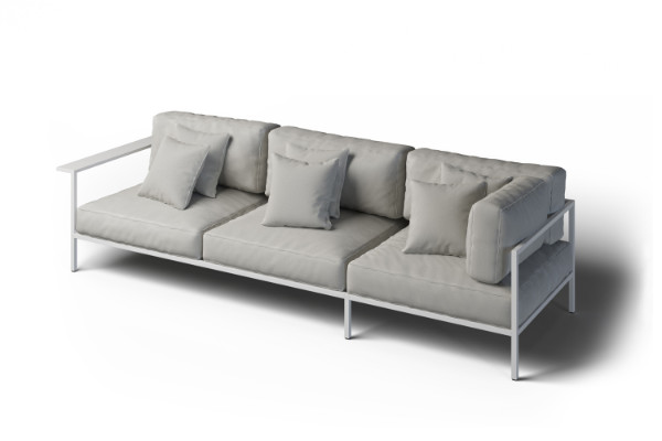 Sofa narożna do ogrodu