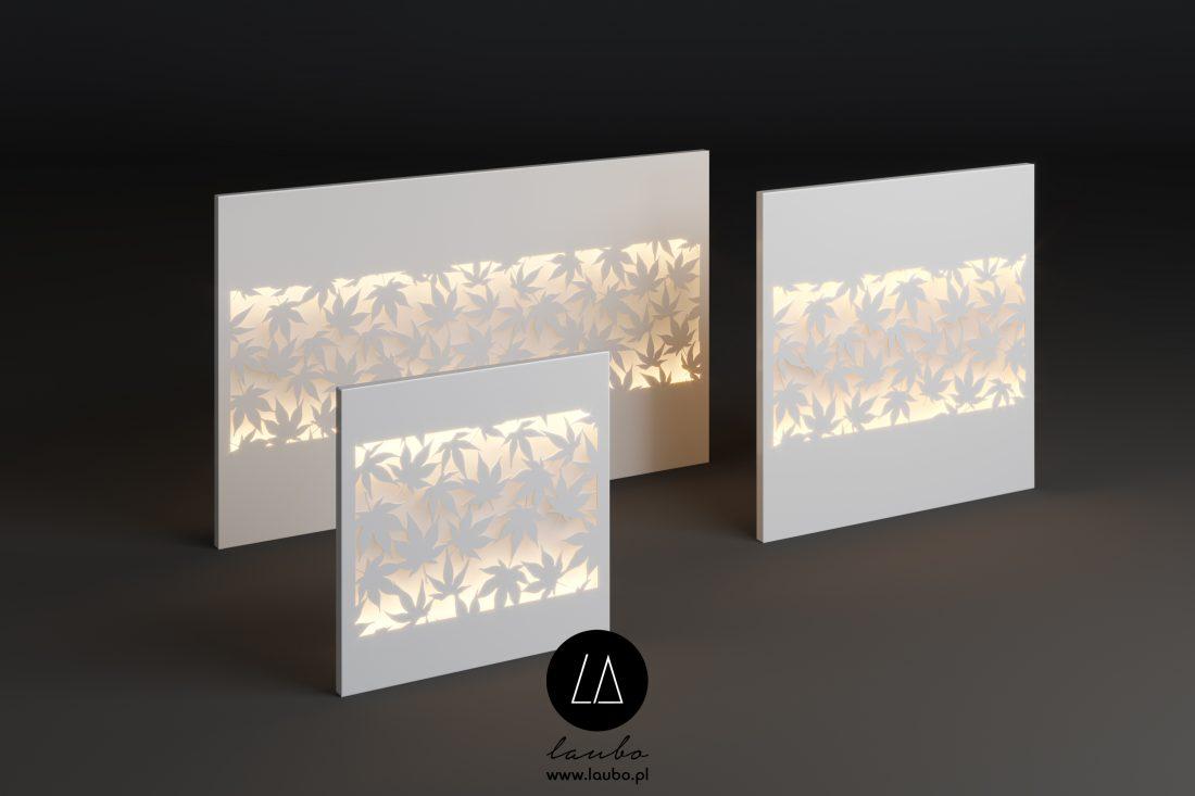 Świecące panele zewnętrzne