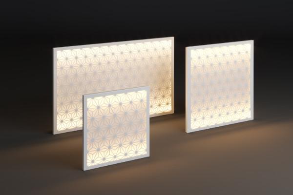 Świecący panel zewnętrzny