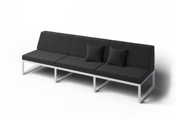 Wygodna sofa ogrodowa